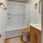 Spots and Dots Lodge Bathroom